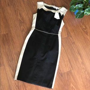 Banana Republic Black & Khaki Dress